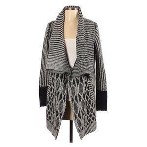 MAX STUDIO Open Front Alpaca Cardigan Sweater sz S